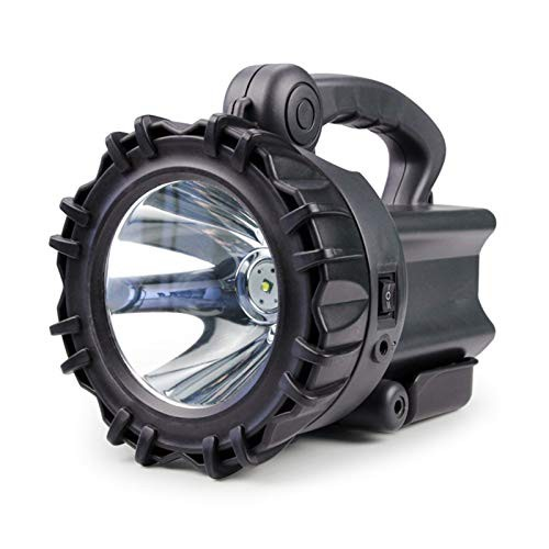 DONGMAISM searchlight Super Bright Searchlight LED Rechargeable USB Waterproof Portable Fishing Light Camping Lantern Emergen