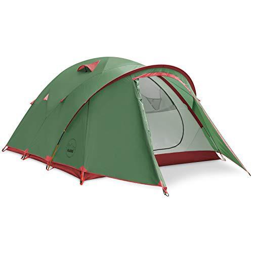特別価格送料無料KAZOO Waterproof Camping Tent 4 Person Family Backpacking Tents 4 People Lightweight Hiking