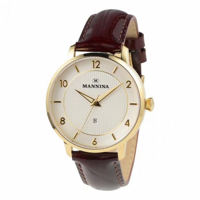 【 新品 】 MANNINA(マンニーナ) 腕時計 MNN001-02 ダークブラウン, 工具ワールド ARIMAS aac1d9c3