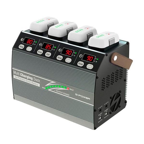 大人気 G0241 充電器(Phantom3/4用) Smart Phantom G-FORCE Charging Multi Battery ジーフォース G-Power Dock for-バッテリー・充電器