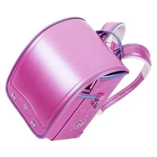 人気定番の パールカラー Pピンク×Pパープル・03-01567 ふわりぃ(R) 協和 プレミアムIIコンパクト 女の子用 2017年度モデル ランドセル-キッズ