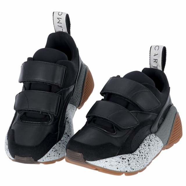 【驚きの値段】 STELLA ECLYPSE 1053 ステラマッカートニー ブラック系 スニーカー W1EB7 491513 MCCARTNEY エクリプス-靴・シューズ