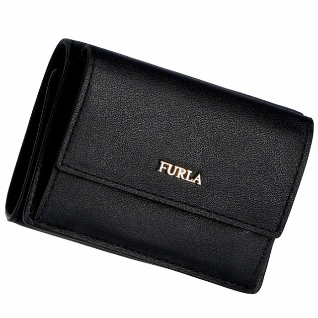 bf74d3b81414 フルラ FURLA 2019年春夏新作 財布 三つ折り財布 ミニ財布 バビロン BABYLON ブラック