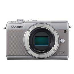 【本日特価】 [グレー] 【送料無料】Canon ボディ EOS M100-カメラ