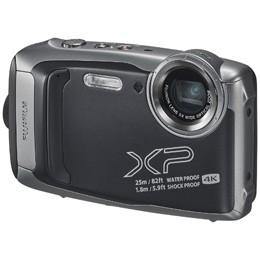 上品 【送料無料】富士フイルム FinePix [ダークシルバー][防水+防塵+耐衝撃] XP140-カメラ