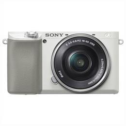 フジオカシ ILCE-6100L パワーズームレンズキット [ホワイト] 【送料無料】Sony α6100-カメラ