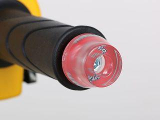 キタコ スーパーカブ110 スーパーカブ50 ハンドル関連パーツ クリアバーエンドキャップ(レッド)