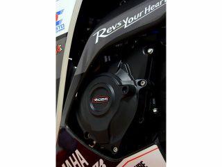 リデア YZF-R25 YZF-R3 エンジンカバー関連パーツ 炭素繊維強化エンジンカバー(2次カバー)&フレームスライダー …