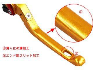 SSK CB1100 CB1100EX CBF1000 レバー 可倒式アジャストレバー 3Dタイプ クラッチ&ブレーキセット(…