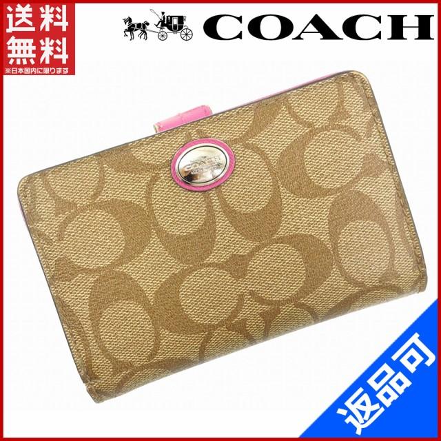 コーチ 財布 COACH 二つ折り財布 ベージュ 即納 【】 X15681