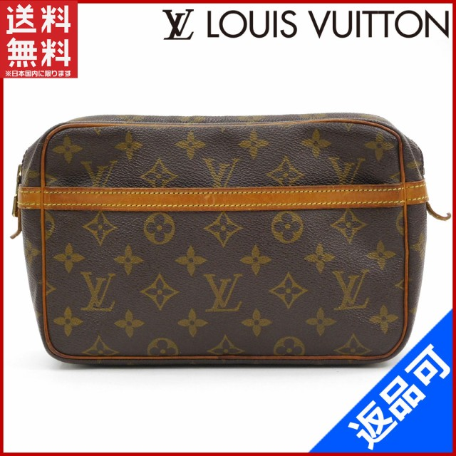 e984f81b1d0e ルイヴィトン バッグ LOUIS VUITTON セカンドバッグ ポーチ メンズ可 コンピエーニュ23 人気 即納 【中古