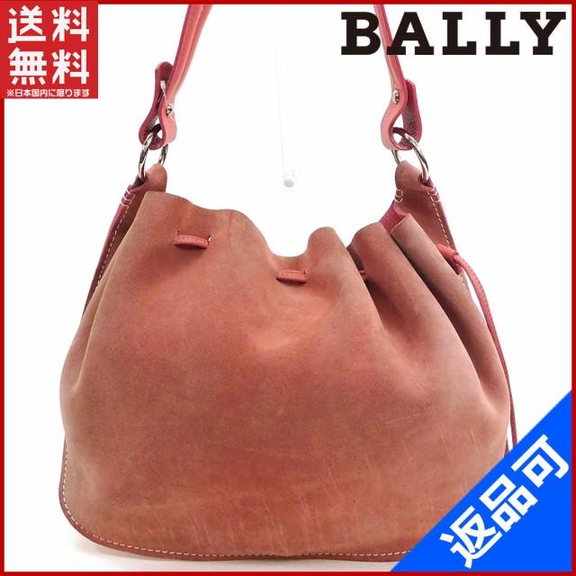 6625463cc998 バリー バッグ BALLY トートバッグ ショルダーバッグ ピンク 良品 即納 【中古】 X8676