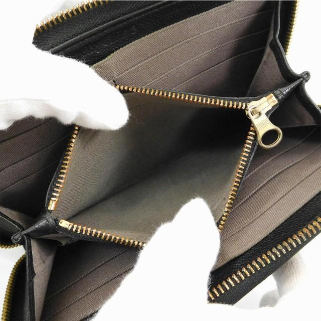 シーバイクロエ 財布 SEE BY CHLOE 長財布 ラウンドファスナー財布 ブラック 即納 【中古】 X16830