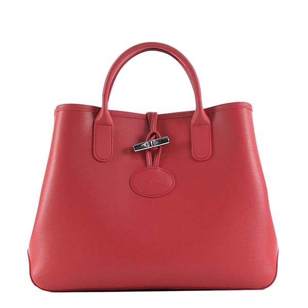 正規品 882 RED/PK【40%OFF ロンシャン ROSEAU 送料無料 ハンドバッグ SALE】 Longchamp 1986 871-バッグ