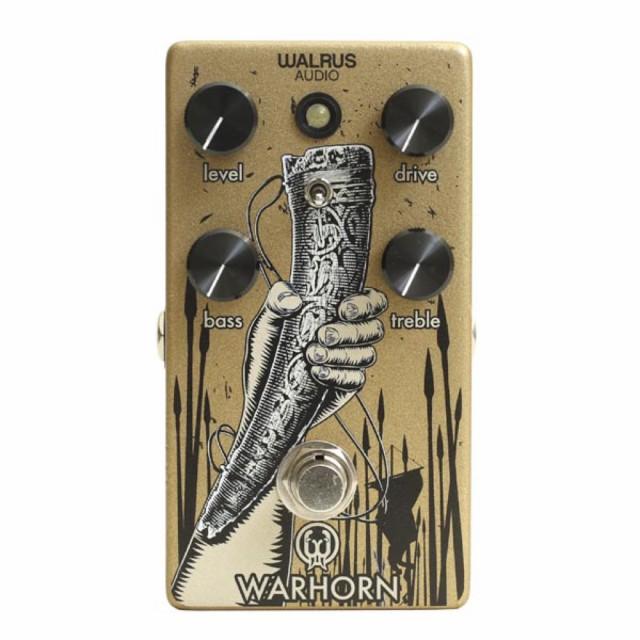 2019年新作 WALRUS AUDIO WAL-WAR Warhorn オーバードライブ ギターエフェクター, ナカヤマ カバン b9fbd5fa