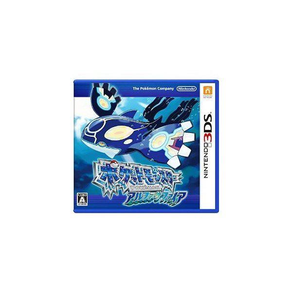 【中古】(3DS) ポケットモンスター アルファサファイア (管理:410449)