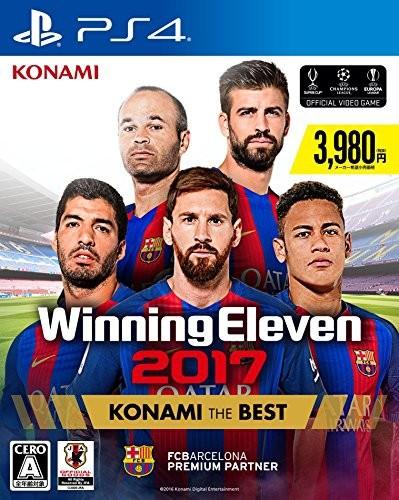 【中古】(PS4)ウイニングイレブン2017 KONAMI THE BEST (管理:405509)