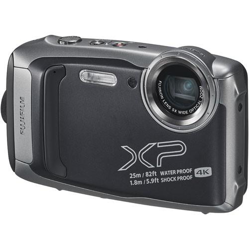 世界有名な 富士フイルム XP140(ダークシルバー) FinePix-カメラ