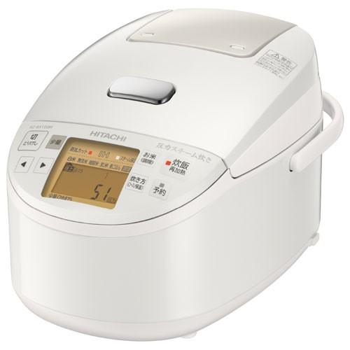 春先取りの 日立 RZ-BX100M-W(パールホワイト) 圧力IH炊飯器 5.5合, リリータ生活倶楽部 08e6ab19