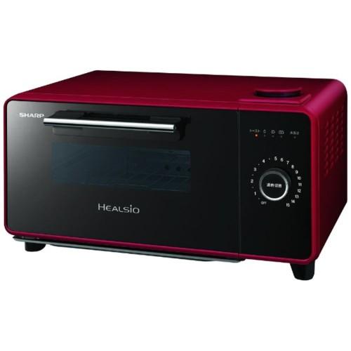 【数量限定】 ヘルシオ AX-GR1-R(レッド) グリエ 1410W トースター シャープ-キッチン家電