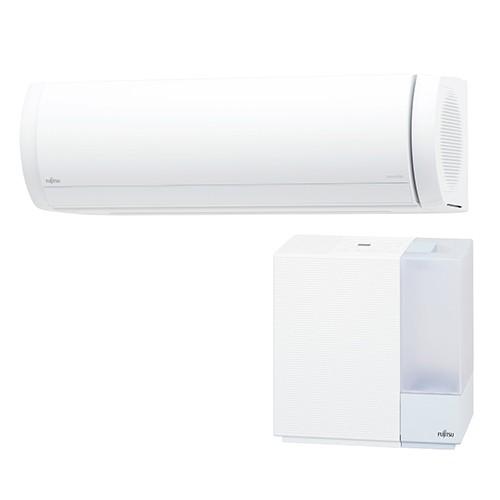 最高の 富士通ゼネラル 富士通ゼネラル 20畳 XWシリーズ AS-XW63K2-W(ホワイト) nocria(ノクリア) XWシリーズ 20畳 電源200V 加湿器セットモデル, ジョウボウグン:a0e0772e --- stunset.de