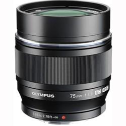 おすすめ DIGITAL ED M.ZUIKO F1.8(ブラック) オリンパス 75mm-カメラ