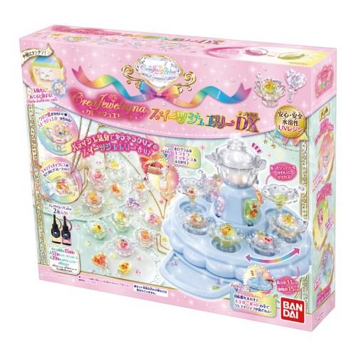 5c92a8b0e61034 送料無料 クレアジュエリーナ スイーツジュエリーDX おもちゃ こども 子供 女の子 ままごと ごっこ 作る 6