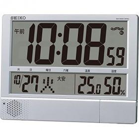 セイコー 電波プログラム付掛置兼用時計 SQ434S ZKL7201