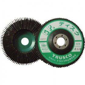 TRUSCO GPディスクホイール 垂直植え 直径100 5枚入 240# GP100
