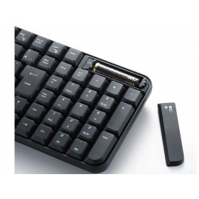 マウス付きワイヤレスキーボード SKB-WL25SETBK