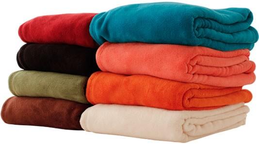 ふわふわ毛布 カラー無地6色
