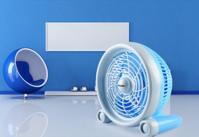 コンパクトusb扇風機