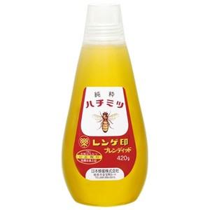 日本蜂蜜 レンゲ印 はちみつ 420g×3入
