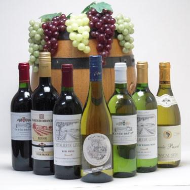セレクションフランスワイン7本セット(赤3本、白4本)で750ml×7本