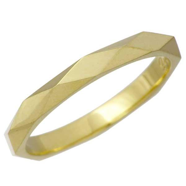 絶妙なデザイン DEAL LTD ディールエルティーディー ゴールド リング 指輪 メンズ レディース DIA SH APE STUDS K18 RING 11~17号 310154K18, 豊山町 638fea4b