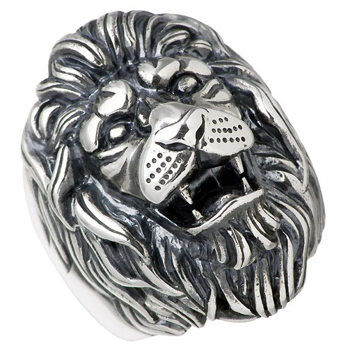 品質保証 ライオン エムズコレクション collection 指輪 M's シルバー メンズ X0130 リング-指輪・リング