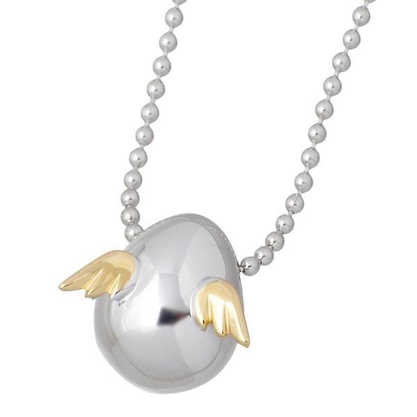【超ポイントバック祭】 天使の卵 ネックレス レディース シルバー tenshi-111, ニイカップチョウ 44239748