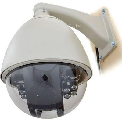 【2018?新作】 サンコー スピードドームジョイスティック付防犯カメラシステム STSPDM54-ビデオカメラ