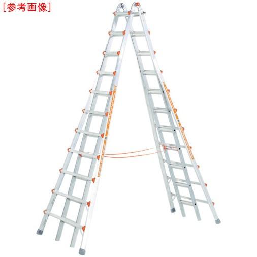 都内で 長谷川工業 LG10110 ハセガワ アルミ合金製伸縮式長尺専用脚立, ヨコハマシ 1709a787
