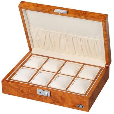 【メーカー直売】 LUHW(ローテンシュラガー) LU51010RW 木製時計8本収納ケース ライトブラウン/薄木目, イズミオオツシ 6cb52b5b