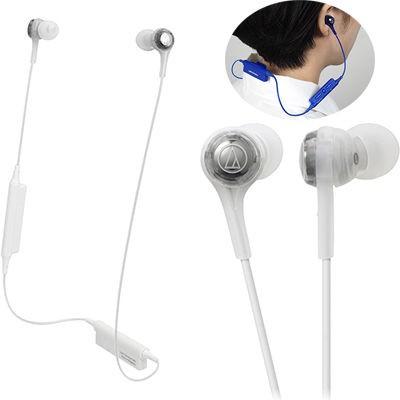 6f86abd1d4b252 オーディオテクニカ ATH-CK200BT-WH Bluetoothワイヤレスヘッドホン ホワイト (ATHCK200BTWH)