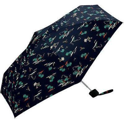 kiu(キウ) FF-00883 折りたたみ傘 タイニー リゾート 6本骨 47cm (FF00883)