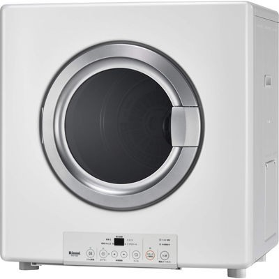 結婚祝い RDT-54S-SV-13A 衣類乾燥機 (都市ガス用) (RDT54SSV13A) 乾燥5.0kg リンナイ (ピュアホワイト) 乾太くん-洗濯機