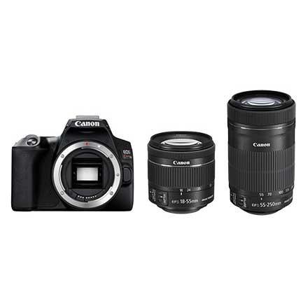 【ギフト】 【送料無料】EOSKISSX10BK-WKIT キヤノン X10ブラック・ダブルズームキット お一人様1台限り デジタル一眼レフカメラ Kiss EOS-カメラ