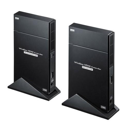 新品入荷 サンワサプライ ワイヤレスHDMIエクステンダー VGA-EXWHD5-PCアクセサリ・サプライ
