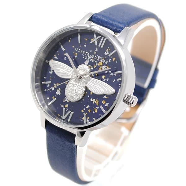 【オンラインショップ】 [即日発送]オリビアバートン レディース 腕時計/OLIVIA BURTON レザー デジタル 腕時計 ネイビー, 【圧縮袋直販】くらしの雑貨屋さん 4cea9066
