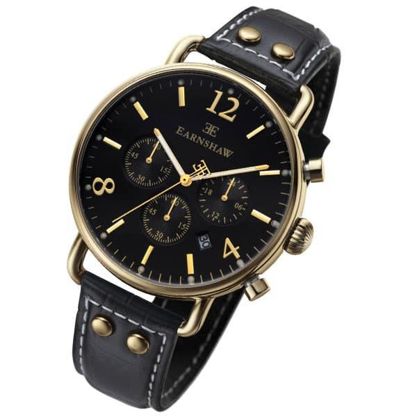 春先取りの アーンショウ メンズ 腕時計/EARNSHAW アナログ表示 クオーツ クォーツ 腕時計 送料無料/込 ホワイトデー, 呉市 7d33bd24