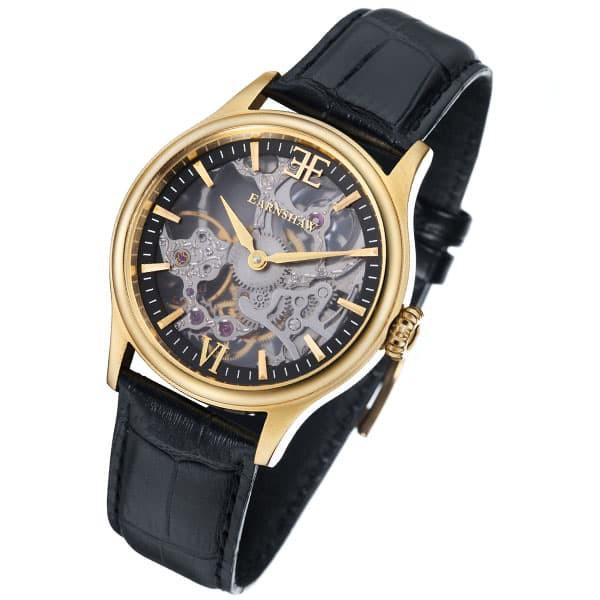 【限定品】 アーンショウ アーンショウ メンズ 腕時計/EARNSHAW アナログ表示 メンズ アナログ表示 レザー 腕時計, タイヤマックス:f3c7279e --- 1gc.de