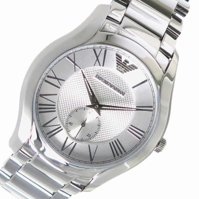 brand new 382e2 9a6d7 エンポリオアルマーニ メンズ 腕時計/EMPORIO ARMANI 腕時計 シルバー au Wowma!(ワウマ)
