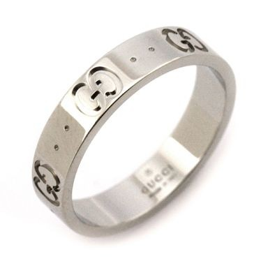 5c47979aa00f グッチ レディース&メンズ リング 指輪8号/GUCCI ロゴ リング 指輪 ...